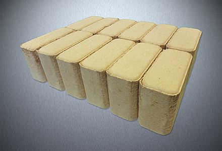 Dřevěné brikety sokolov